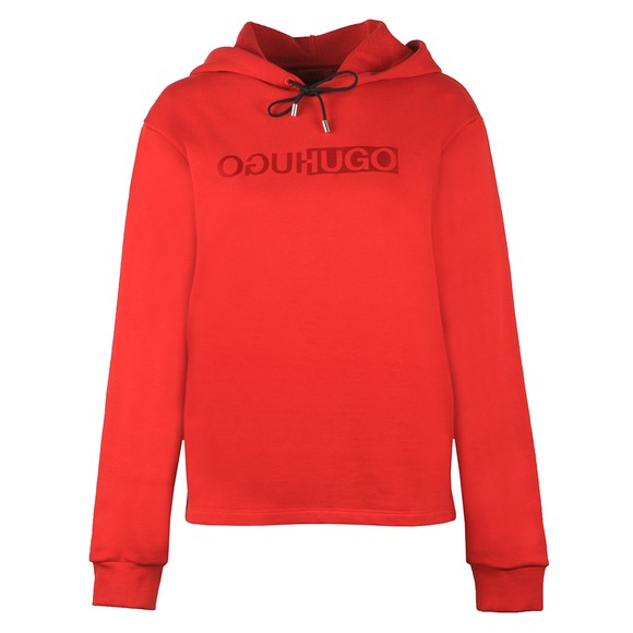 HUGO Womens Red Nemolia_2 Overhead Hoody