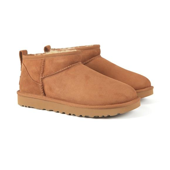 Ugg Womens Brown Classic Ultra MIni Boot