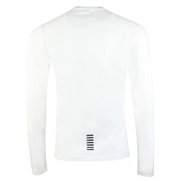 EA7 Emporio Armani Mens White Core LS T-Shirt main image