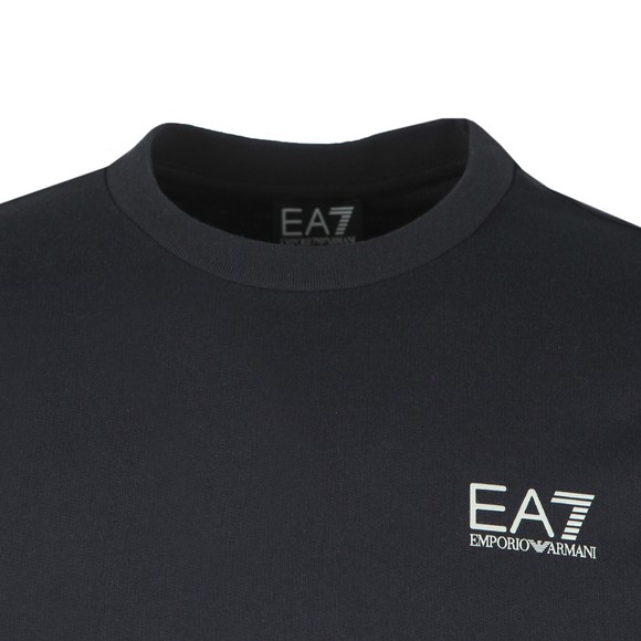 EA7 Emporio Armani Mens Blue Logo Sweatshirt