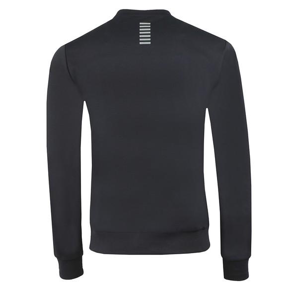 EA7 Emporio Armani Mens Blue Logo Sweatshirt main image