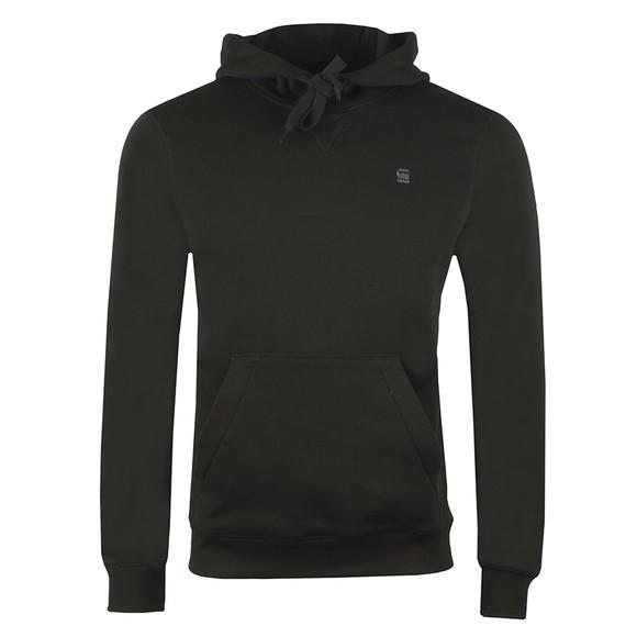 G-Star Mens Black Premium Core Hooded Sweatshirt