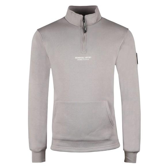 Marshall Artist Mens Purple Half Zip Siren Sweatshirt