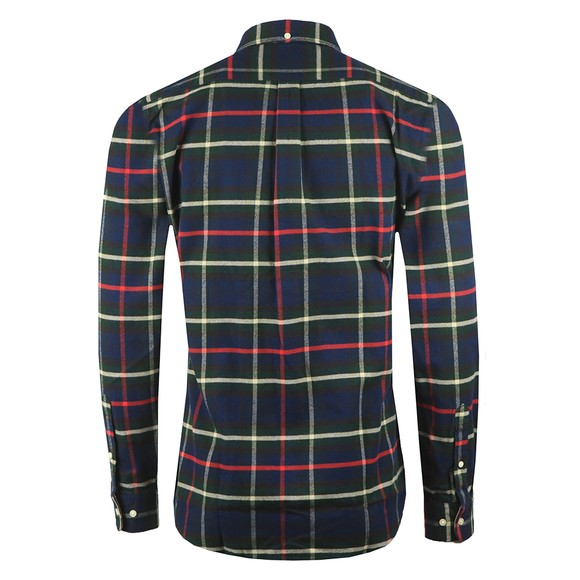 Barbour Lifestyle Mens Blue Highland Check 19 Shirt main image