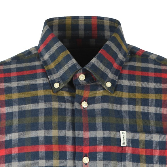 Barbour Countrywear Mens Blue Hadlo Shirt