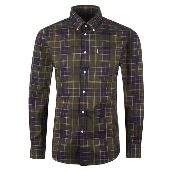 Barbour Lifestyle Mens Green Wetheram Shirt main image