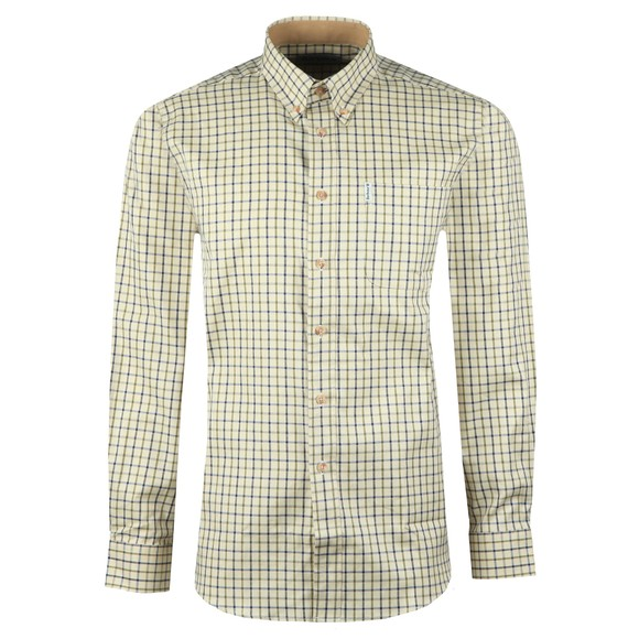 Barbour Lifestyle Mens Blue Tattersall Shirt main image