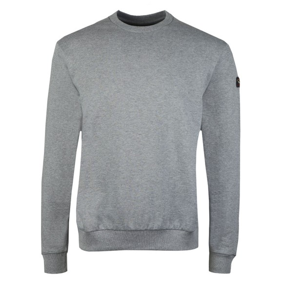 Paul & Shark Mens Grey Crew Neck Sweatshirt