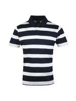 Large Striped Polo Shirt