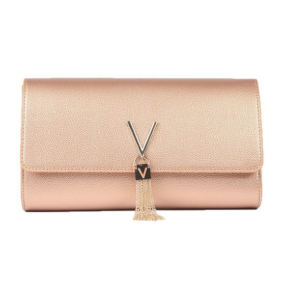Valentino by Mario Womens Pink Divina Clutch