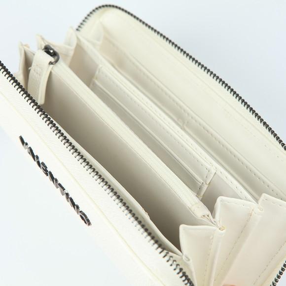 Valentino Bags Womens White Divina Zip Around Purse main image