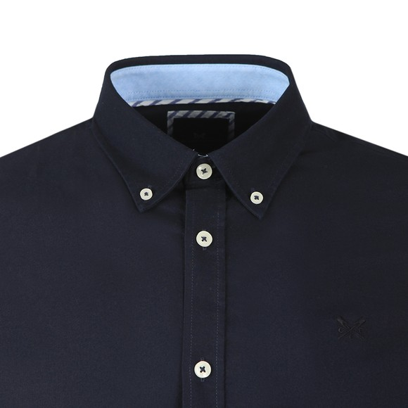 Crew Clothing Company Mens Blue Oxford Shirt