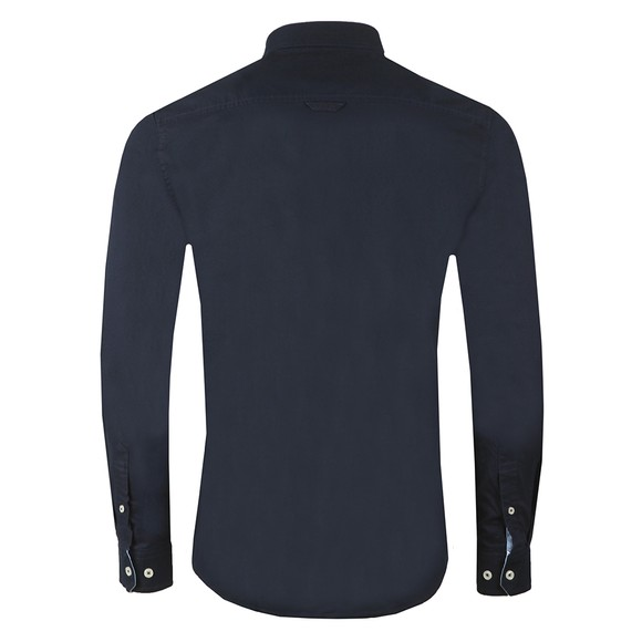 Crew Clothing Company Mens Blue Oxford Shirt main image