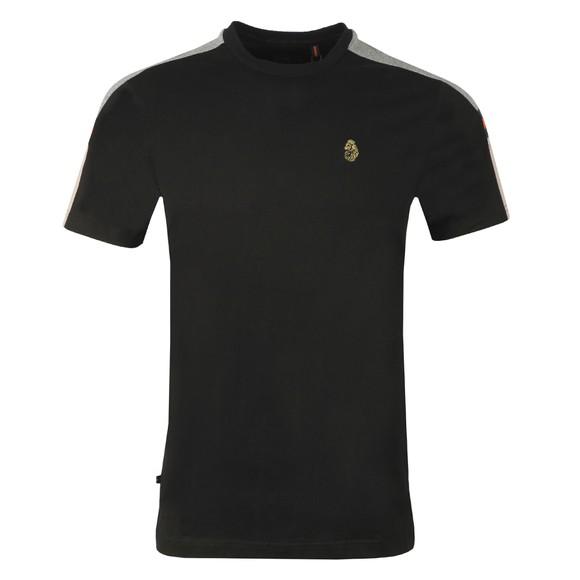 Luke Sport Mens Black Hail T-Shirt
