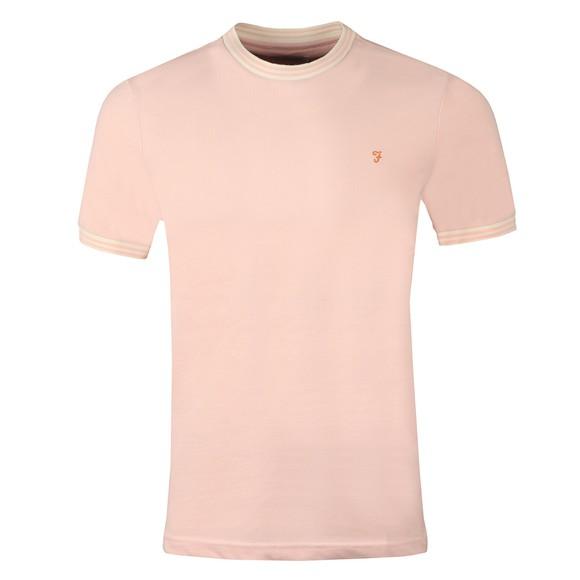 Farah Mens Pink Texas T-Shirt