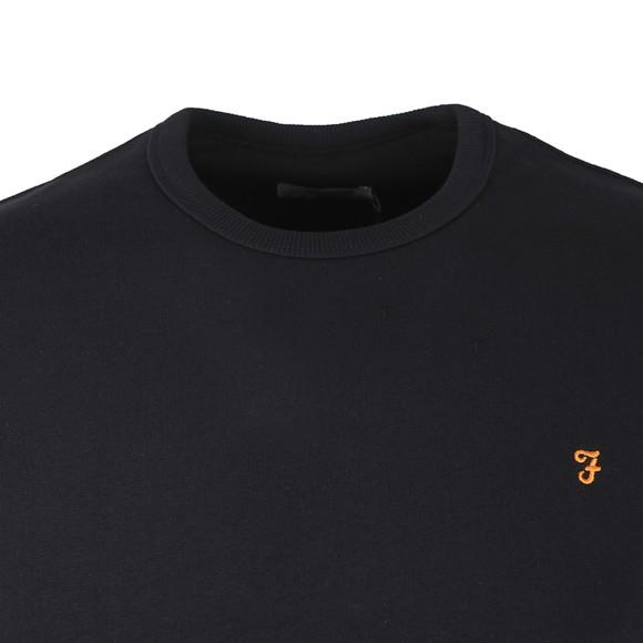 Farah Mens Blue Tim Crew Sweatshirt