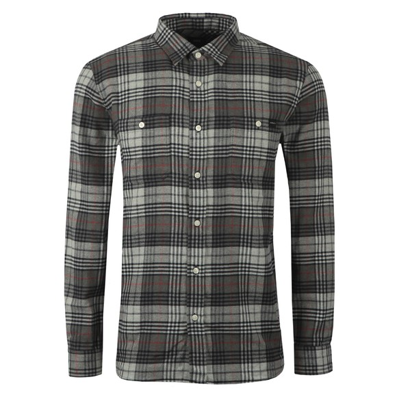 Edwin Mens Grey Labour Shirt
