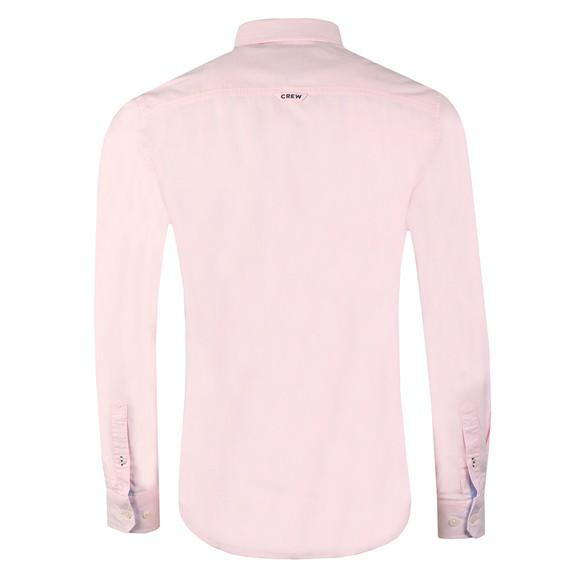 Crew Clothing Company Mens Pink Oxford Shirt main image