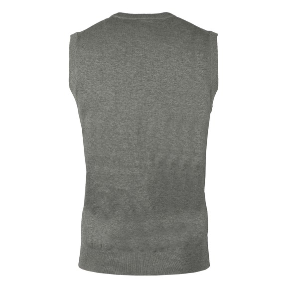 Gant Mens Grey Cotton Slipover main image