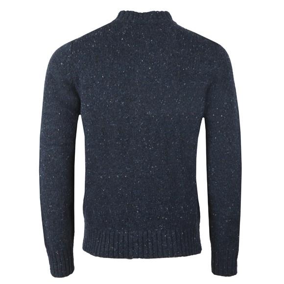 Fynch Hatton Mens Blue Zipped Cardigan main image