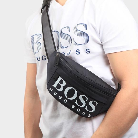 BOSS Mens Blue Magnif214 Cross-Body Bag main image