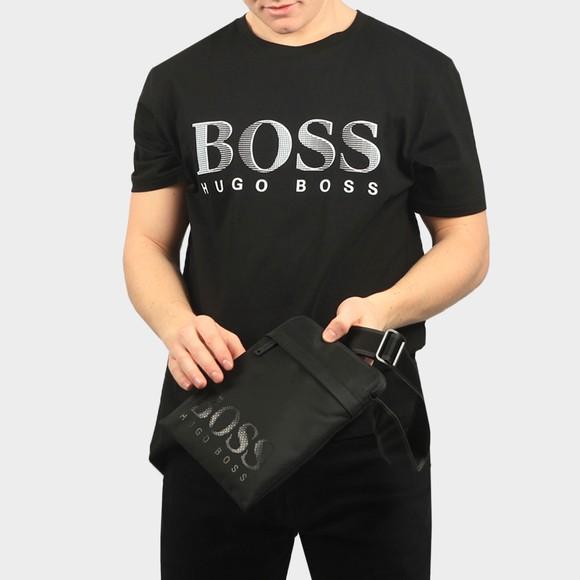 BOSS Mens Black MagnLD214 Shoulder Bag main image