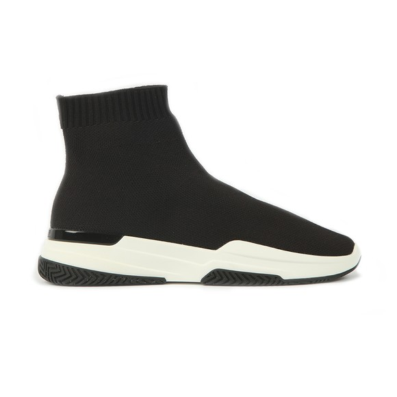 Mallet Womens Black Sock Runner