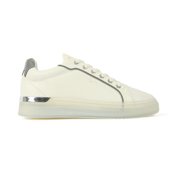 Mallet Mens White/Clear Reflective GRFTR Trainer