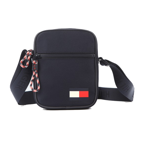 Tommy Hilfiger Mens Blue Mini Reporter Bag