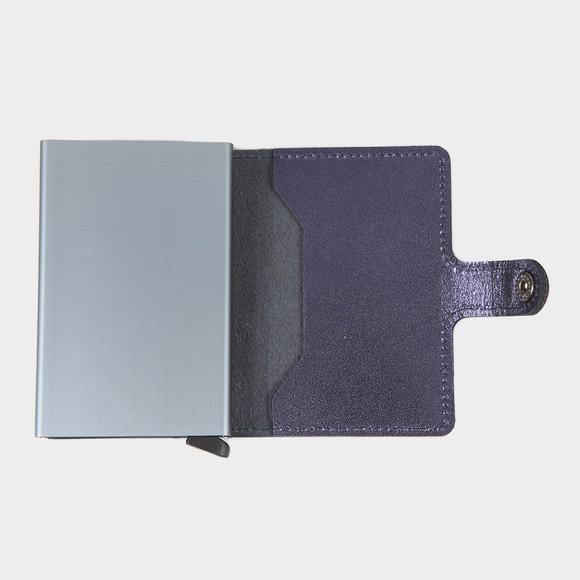 Secrid Mens Blue Mini Metallic Wallet main image