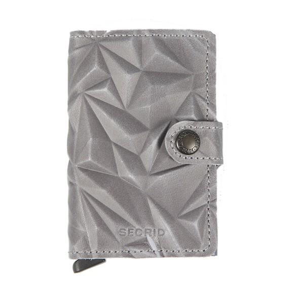 Secrid Mens Beige Mini Prism Wallet main image