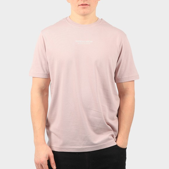 Marshall Artist Mens Pink Siren Injection T-Shirt main image