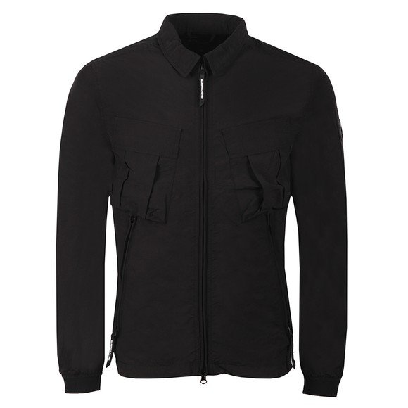 Marshall Artist Mens Black Cotton Polyamide Overshirt main image