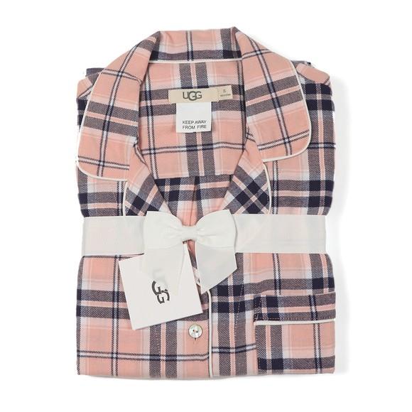 Ugg Womens Pink Raven Flannel Gift Set