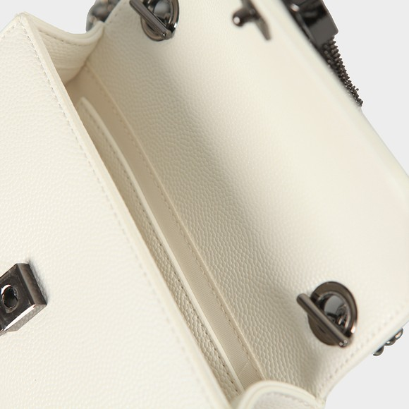 Valentino by Mario Womens White Divina Clutch Bag main image