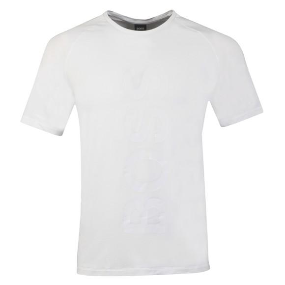 BOSS Bodywear Mens White Fashion T-Shirt