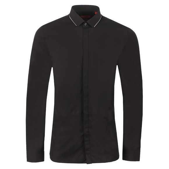 HUGO Mens Black Evidio Shirt