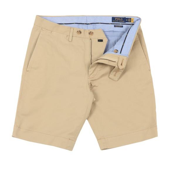 Polo Ralph Lauren Mens Beige Slim Fit 9 Inch Stretch Chino Short