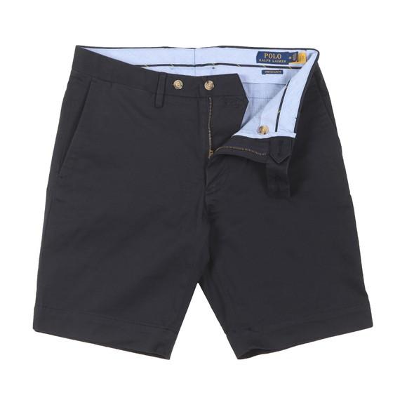 Polo Ralph Lauren Mens Blue Slim Fit 9 Inch Stretch Chino Short