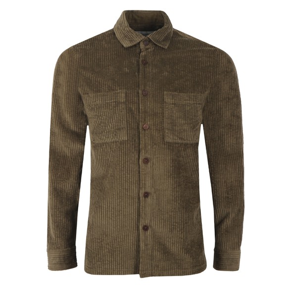 Wax London Mens Green Whiting Overshirt