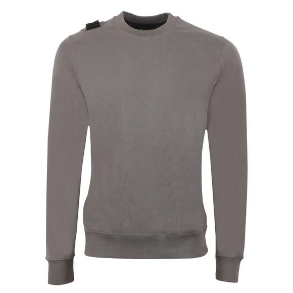 Ma.Strum Mens Grey Core Crew Sweatshirt