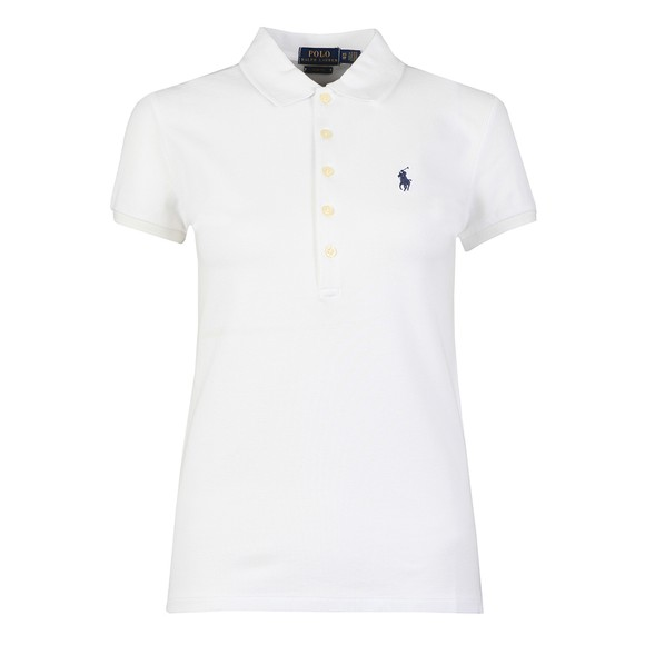 Polo Ralph Lauren Womens White Julie Polo Shirt