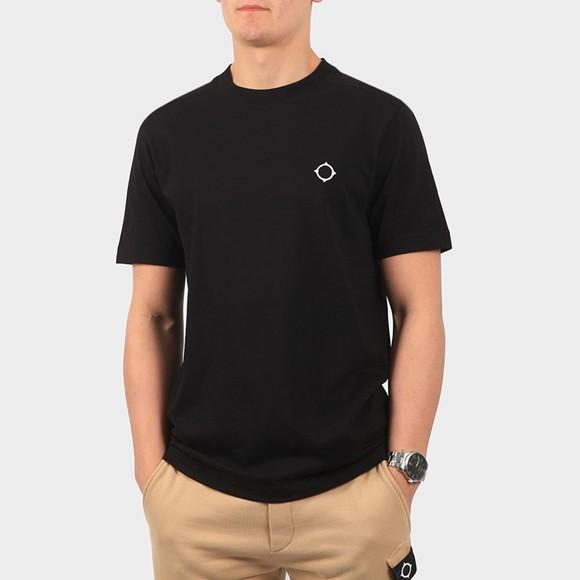 Ma.Strum Mens Black Core Icon T Shirt
