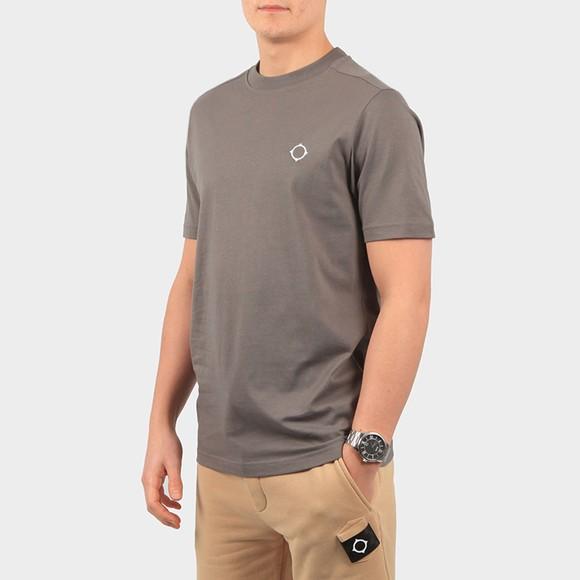 Ma.Strum Mens Grey Core Icon T-Shirt