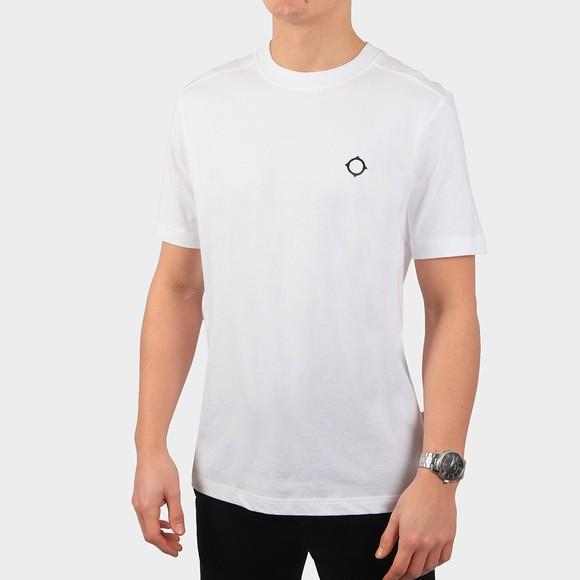Ma.Strum Mens White Core Icon T-Shirt