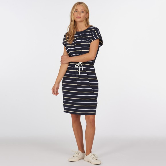 Barbour Lifestyle Womens Blue Marloes Stripe Dress main image