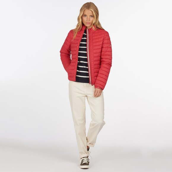 Barbour Lifestyle Womens Red Runkerry Quilt main image