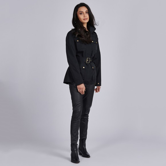 Barbour International Womens Black Pace Jacket main image