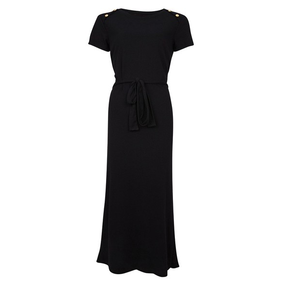 Barbour International Womens Black Hairpin Dress