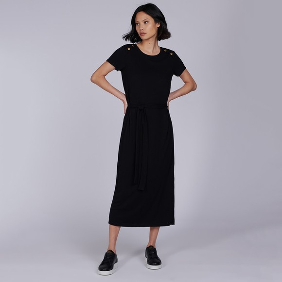 Barbour International Womens Black Hairpin Dress main image